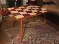 Absolutely stunning retro 1960's tiled top coffee table