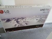 LG 55 INCH 4K UHD HDR SMART LED TV (BRAND NEW ) **£495**