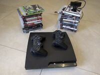 Sony PlayStation 3, PS3 500GB, 24 games and PS Eye Camera
