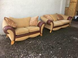 Pair of sofas * free furniture delivery *