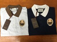 GUCCI MENS 'EXCLUSIVE' POLO SHIRTS - WOW! - SALE! - HUGE STOCK!