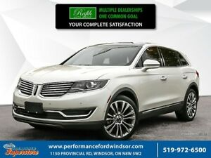 2016 Lincoln MKX ***AWD, leather, NAV, panoramic sunroof, 360 ca