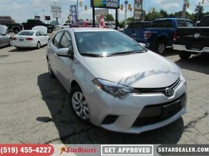 2016 Toyota Corolla LE | BACKUP CAM | SAT RADIO | BLUETOOTH