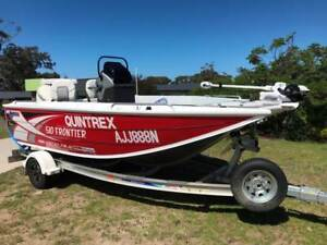 Quintrex 510 Frontier boat for sale