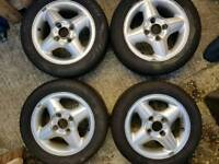 4 Ford Fiesta MK4 Alloys