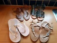 Bag full of sandals- bargain