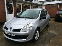 Renault Clio Tomtom 2 door model in silver 1.2ltr low insurance brand new mot