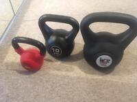 Kettle Bells - 8kg, 10kg, 16kg