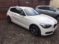 BMW 116D SPORT, WHITE, QUICK SALE