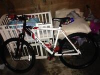 Evade mountain bike upgraded