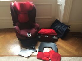 Cybex Sirona car seat group 0 and 1 extended rearward facing excellent condition - birth to 18kg