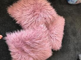 Fluffy cushions
