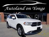 2014 Dodge Durango LIMITED AWD NAVIGATION,2 BLUERAY DVDS,LEATHER
