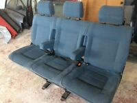 Vw - Triple rear seat / bench