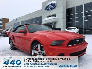 2013 Ford Mustang GT* DECAPOTABLE, V8 5.0L INTERIEUR CUIR,