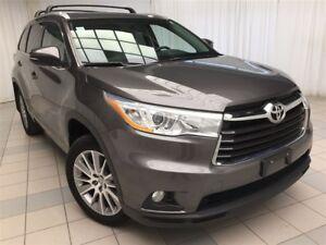 2014 Toyota Highlander XLE: 1 Owner, 4 New Tires.