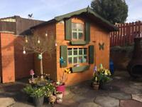 Wooden 2 Story Play House
