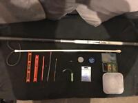 Pole fishing setup