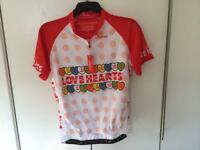 Ladies Lovehearts Cycling Jersey XL