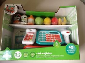 Early Learning Cash Register suitable age 3 - 8 Unopened