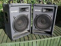 OPUS PRO AUDIO SPEAKERS 200 WATT SPEAKERS