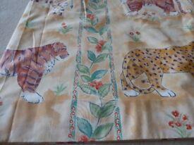 Curtains designer animal print