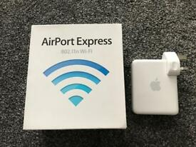 Airport Express 802.11n Wi-Fi router base station