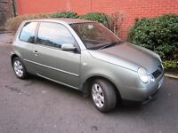 VW Volkswagen Lupo, November 2002, Year's MoT, new clutch, timing belt, remarkably good condition