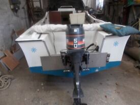 19ft grp fast fishing boat