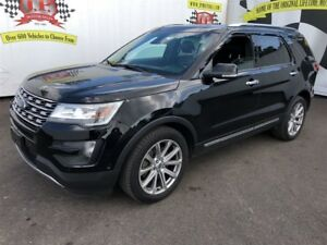 2016 Ford Explorer Limited, 3rd Row Seating, 4x4, 93,000km