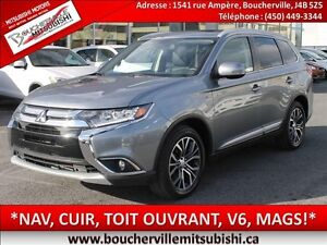 2016 Mitsubishi Outlander GT*NAV.(GPS), CUIR, TOIT OUVRANT*