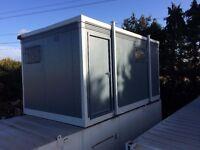FOR SALE 16 x 9ft 3+1 Toilet Unit/ Jack Leg/ Site Toilet/Portable Toilet Block/MORE AVAILABLE/
