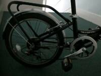 As new foldable bike. Used 3 times for commuting. Totally new. Good bargain