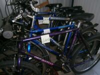 Used bike second hand bike used cycle used bicycle from £39, Storage / Garage clearance sale