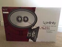 "Infinity Series 9603i 6"" x 9"" Three-Way Car Audio Loudspeakers"