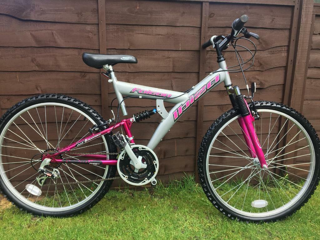 Ladies Girls Falcon Ibiza Mountain Bike In Birkenshaw