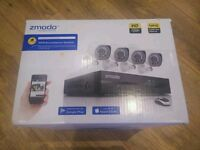 ZMODO ZM-SS714-1TB 4-Channel HD Security Camera System with 4-Indoor/ Outdoor Night Vision
