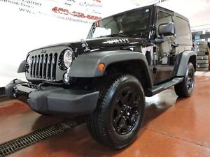 2014 Jeep Wrangler WILLYS , A/C, BLUETOOTH, HARD TOP, HITCH