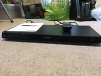 Phillips Blu ray and DVD player BDP3380 - also works with 3D DVDs