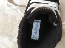 Ralph Lauren - baby boy - high sneakers