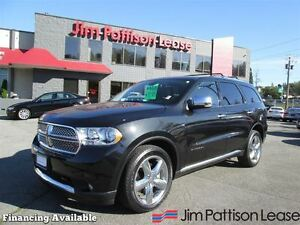 2012 Dodge Durango Citadel w/nav/dvd, full load