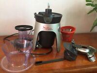 Juicer/Blender. Moulinex infiny press revolution.