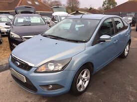 2009/58 FORD FOCUS 1.6 TDCI ZETEC,METALLIC BLUE,£30 ROAD TAX,EXCELLENT ECONOMY,LOOKS AND DRIVES WELL