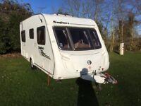 Swift Safari 535 Caravan, 2011, 4 berth, fixed bed, fantastic condition inside & out, high spec