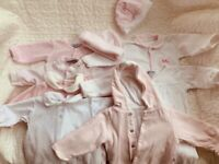 Spanish Designer/ Baby boutique Baby Girl Boundle up to 1 month