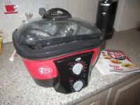 Go Chef 8 in 0ne cooker brand new ,red and black ,with cooking instructions