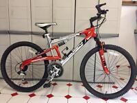 Barracuda mountain bike, full suspension, the bike is like new.