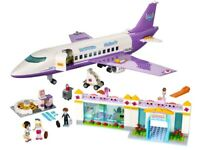Lego Friends 41109 Heartlake Plane/Airport Building Set complete with instructions & box ages 7–18