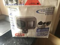 Black and white home cctv out door camera
