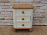 3 Drawer Bedside Cabinet with dovetail joints (Delivery)